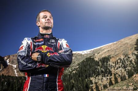 Sébastien Loeb a franchi la ligne d'arrivée située à 4 300 mètres d'altitude avec sa montre RM au poignet