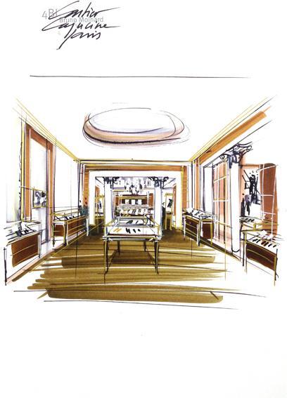 Cartier - Nouvelle boutique parisienne au 12 Boulevard des Capucines