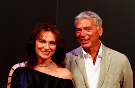 Jacqueline Bisset et Jean-Marc Jacot, CEO Parmigiani