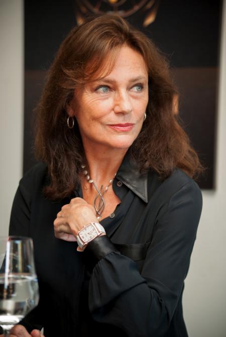 Jacqueline Bisset et sa montre Kalparisma
