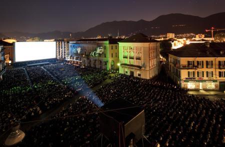 La Piazza Grande lors du 66ème Festival du Film de Locarno