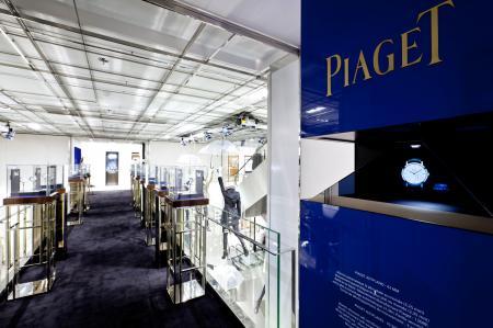 Exposition Piaget Altiplano à Paris au Printemps Haussmann