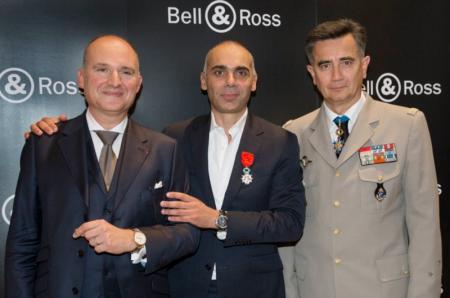 Carlos Rosillo, Bruno Belamich et le Général Christian Baptiste