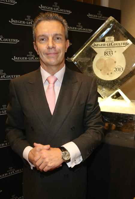 Daniel Riedo, CEO Jaeger-LeCoultre, event Place Vendôme October 17 copyright Michel Dufour
