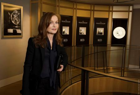 Isabelle Huppert at Boutique Jaeger-LeCoultre Place Vendôme copyright PixHel