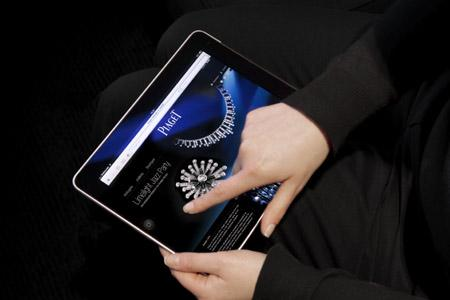 www.piaget.com sur iPad