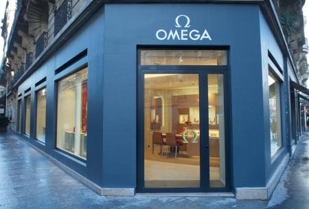 Boutique OMEGA rue de Sèvres