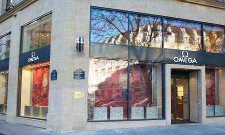 Boutique OMEGA boulevard des Capucines
