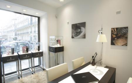 Boutique CORUM à Paris