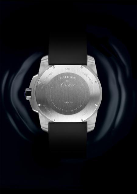 Calibre de Cartier Diver acier