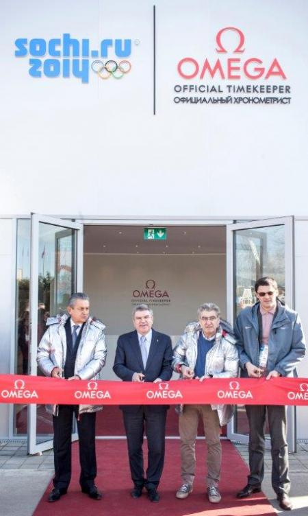 Inauguration du Pavilllon OMEGA