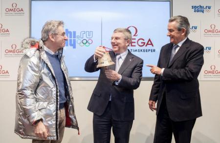 Inauguration du Pavilllon OMEGA à Sotchi