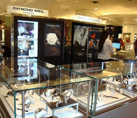 RAYMOND WEIL aux Galeries Lafayette à Paris