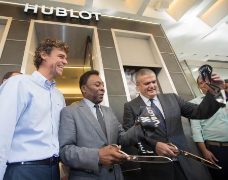 Hublot ouvre sa première boutique en Amérique Latine