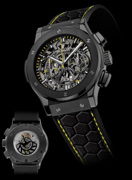 Hublot présente la montre Pelé