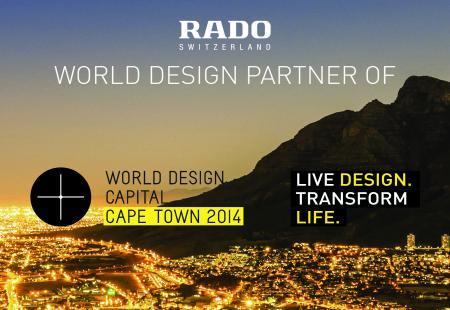 Rado est fière d'être le World Design Partner pour la World Design Capital Le Cap 2014