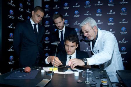 Thiago Silva, Gregory Van Der Wiel et Yohan Cabaye