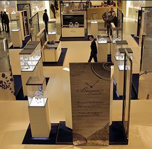 Breguet s'est emparé de la Plaza du Swatch Group lors de Baselworld