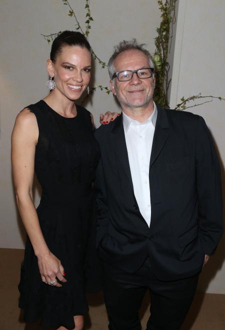 Hilary Swank & Thierry Frémaux