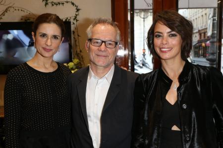 Livia Firth, Thierry Frémaux & Bérénice Béjo