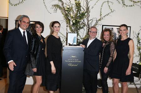 Rodrigo Cipriani, Bérénice Béjo, Livia Firth, Thierry Frémaux, Caroline Scheufele & Hilary Swank