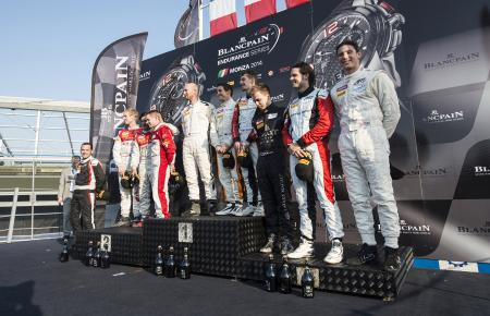GT Series 2014 Monza Podium