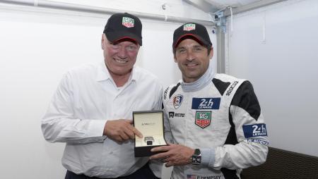Jean-Claude Biver et Patrick Dempsey