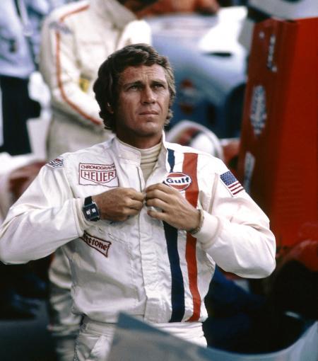 Steeve McQueen dans le film Le Mans - 1970