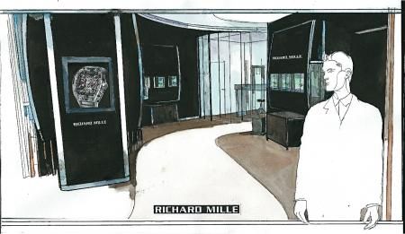 La boutique de Richard Mille Paris s'installe avenue Matignon