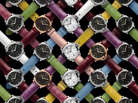 Les bracelets Panerai disponibles dans onze nouvelles couleurs sophistiquées