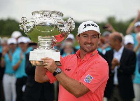 Graeme McDowell, ambassadeur d'Audemars Piguet depuis 2005, conserve son titre à l'Open de France