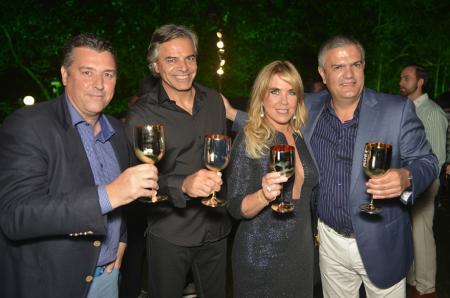 Rick de La Croix, Vincent Kieffer, Lilibeth Monteiro de Carvalho et Ricardo Guadalupe