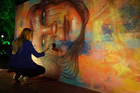 Panmela Castro, reine du graffiti brésilien et fondatrice de Rede Nami Feminista