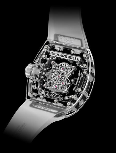 Richard Mille - Tourbillon RM 56-02 Saphir