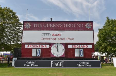 Piaget, partenaire horloger officiel du tournoi Audi International for The Coronation Cup