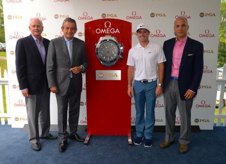 OMEGA, PGA et Rory McIlroy - Conference de Presse