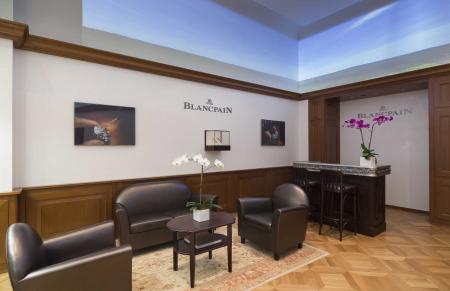 Nouvelle boutique Blancpain sur la 5ème avenue