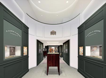 La boutique A.Lange & Söhne à New York