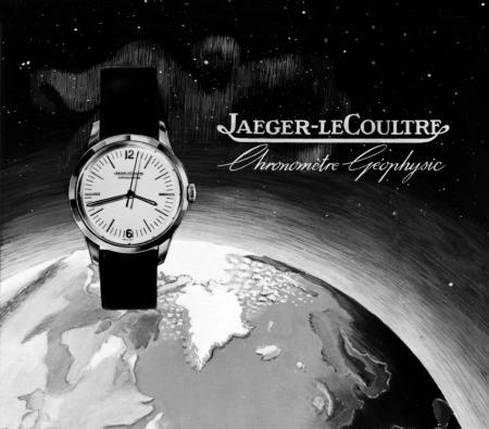 Jaeger-LeCoultre Geophysic® - affiche d'époque