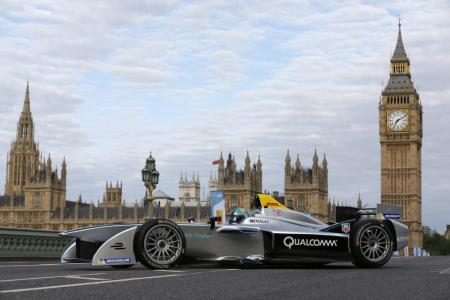Formula E is the world's first fully electric race series