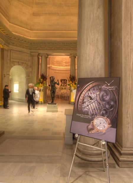Breguet au Fine Arts Museums of San Francisco