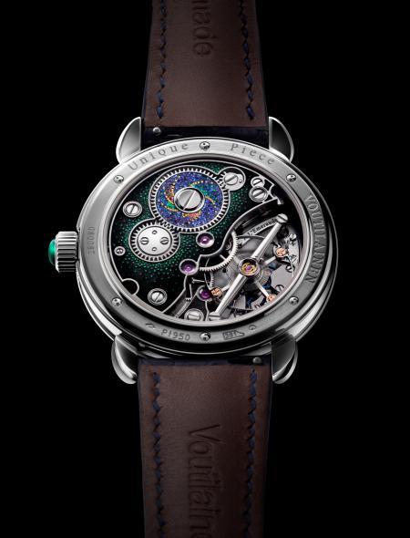 Vue de dos - Prix de la montre metiers d'art - Voutilainen