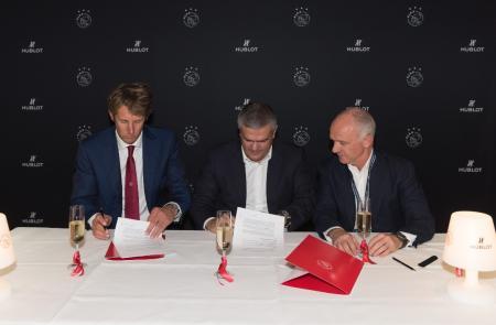 Hublot et l'Ajax prolonge leur partenariat