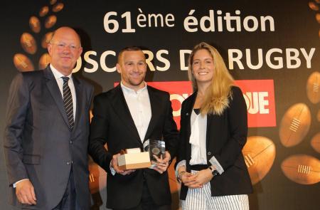 JEANRICHARD Oscars du Rugby - Matt Giteau