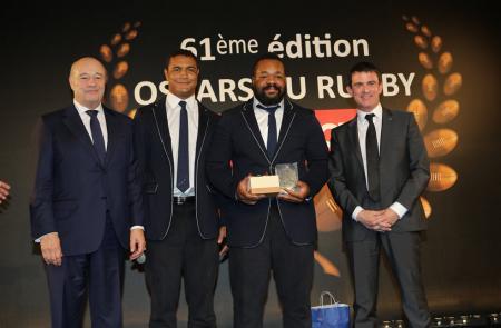 JEANRICHARD Oscars du Rugby - Matthieu Bastareaud