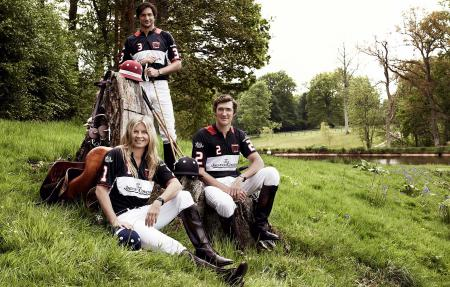 Jaeger-LeCoultre Polo ambassadors Clare Milford Haven, Eduardo Novillo Astrada, Luke Tomlinson @Astrid Munoz