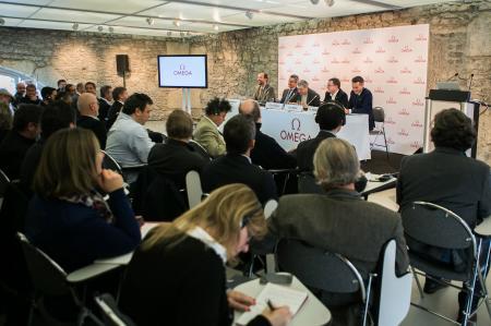 Conférence de presse organisée hier, mardi 9 décembre, à la Cité du Temps à Genève