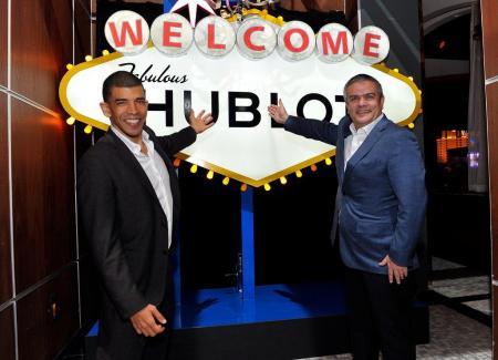 Adam Pliska, Président du World Poker Tour et Ricardo Guadalupe, CEO de Hublot,