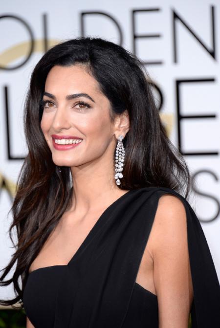 Amal Clooney - Bijoux Harry Winston