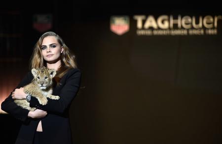 Cara Delevingne, nouvelle ambassadrice de TAG Heuer